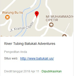 Google Map To Batukali Adventures
