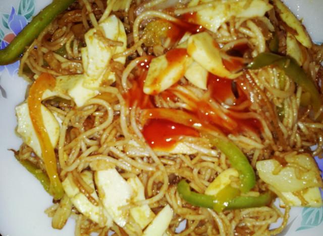 Egg Boiled Recipes Boiled Egg Noodles Recipe