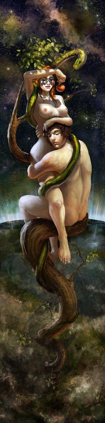 Johannes Voss algenpfleger deviantart ilustrações fantasia games erótico sensual fetiche peitos
