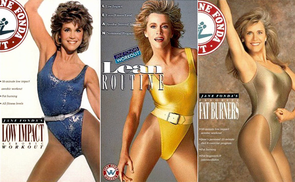 I'm Jane Fonda! And yes! I have a banging body!