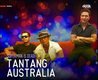 Superman Is Dead Tantang Australia, tentang ancaman pemeritah nera kanguru akan boikot wisata indonesia.