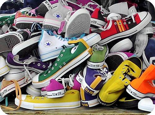 Converse All Star de muchos colores