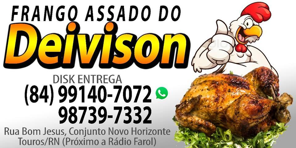 O MELHOR FRANGO ASSADO DE TOUROS/RN