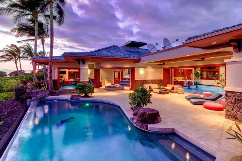 Full picture hawaii beach homes for Hawaii home builders