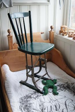 Gard sin nye skrivebord-stol