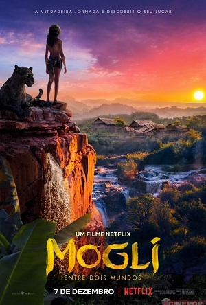 Mowgli - Legend of The Jungle Netflix 2018 Baixar torrent download capa