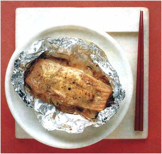 Мисо из лосося