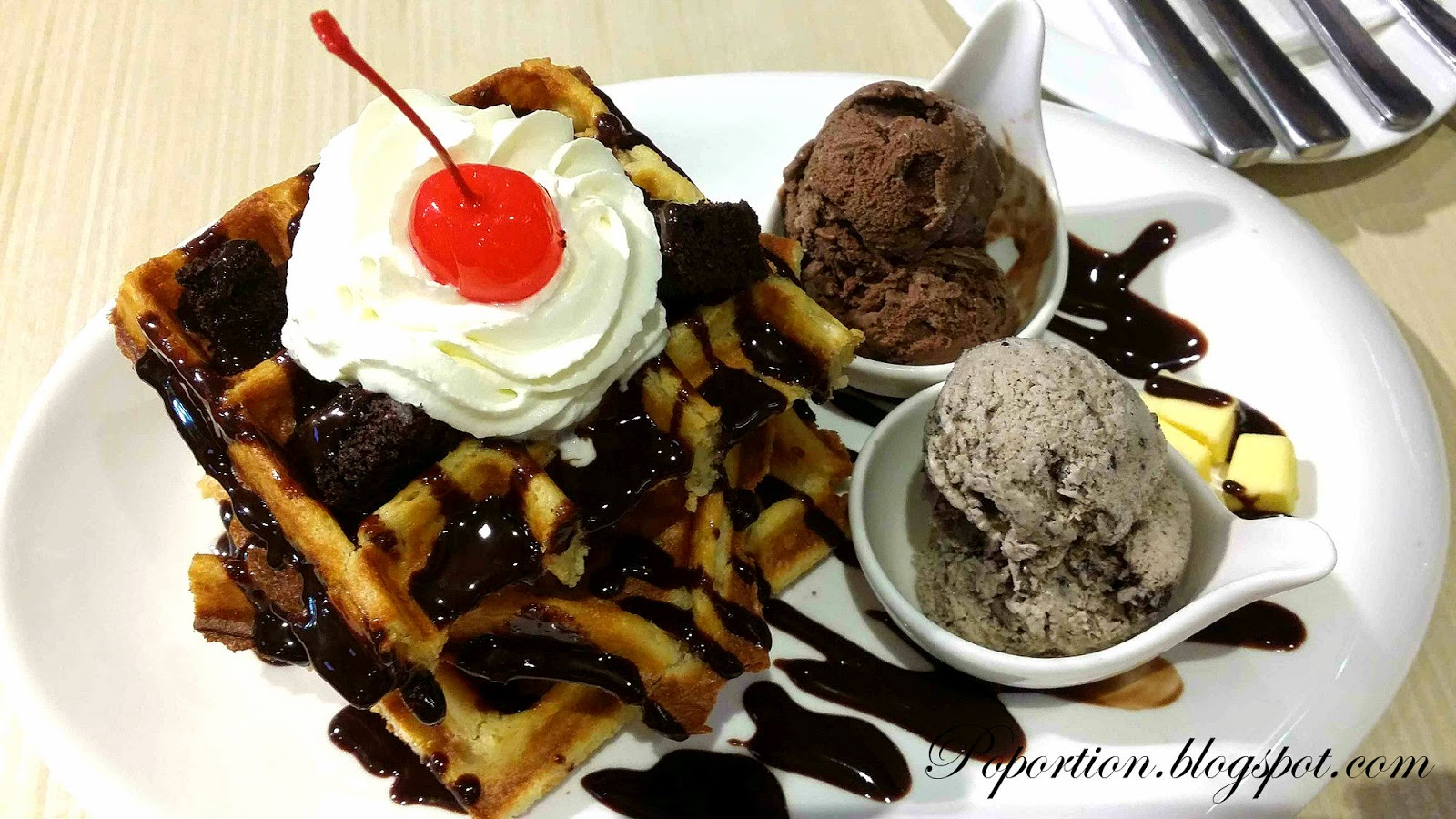 chocolate indulgence waffles belgium chocolate cookies and cream ice cream