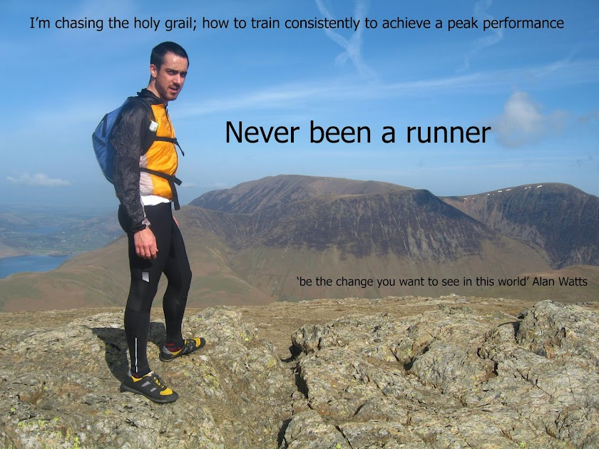 Never been a runner