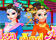 Elsa and Anna Chinese