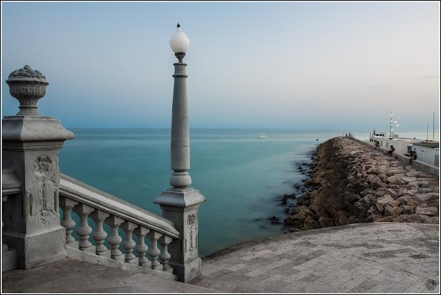 Sitges, Barcelona: Mar Mediterráneo en largas exposiciones