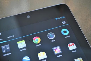 How to use the camera of the Nexus 7