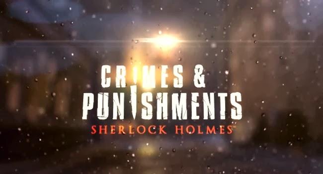 Sherlock Holmes Crimes Punishments logo