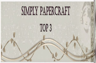 Top 3 Winner at Simply Papercraft Challenge