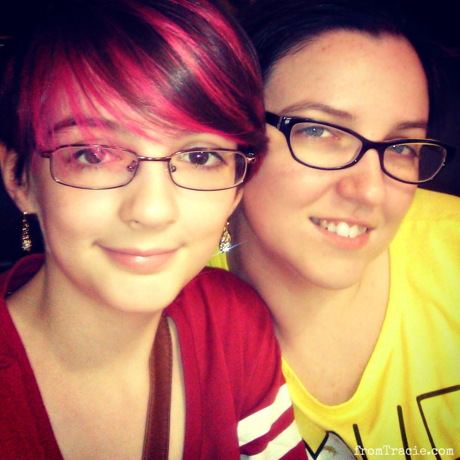 Katarina and Tracie Nall
