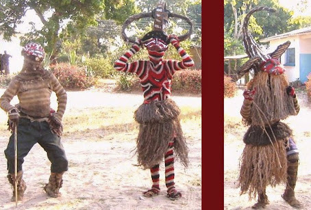 Makishi dancers in Western Province