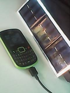 charger tenaga surya/matahari
