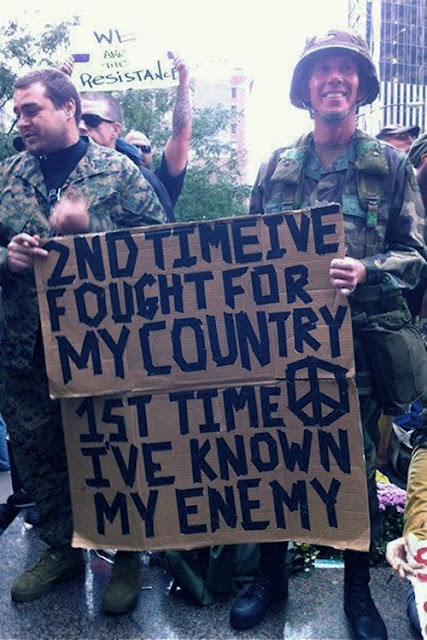 best occupy wall street signs