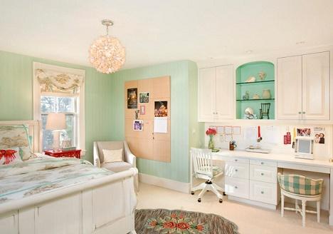 Estupendos dise os de dormitorios para adolescentes - Como decorar un cuarto juvenil femenino ...