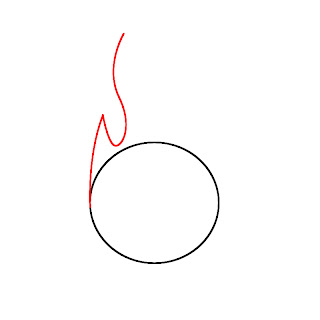 How To Draw Fire Step 2