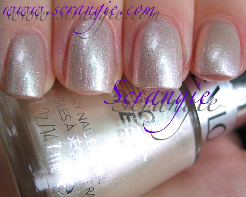 Scrangie: Revlon 020 Sheer Pearl Swatches and Review