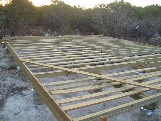 Girders Finished And Rim Joist Leveling And Floor Joist