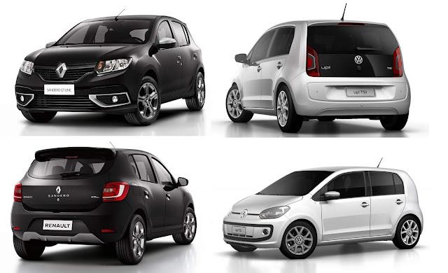 Renault Sandero x Volkswagen Up!
