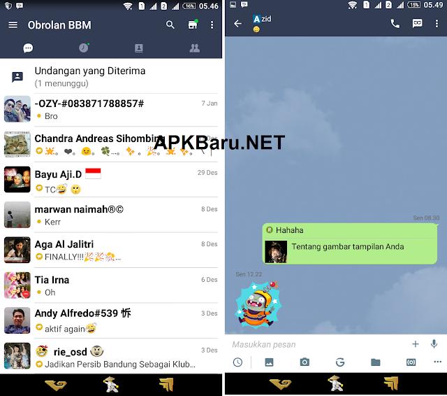BBM Mod Line v2.12.0.9 APK Terbaru