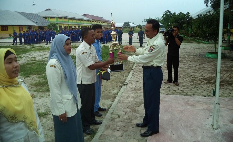 Ceremonial pemenang Gebyar Pendidikan