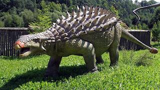 Ankylosaurus - Binatang Purbakala