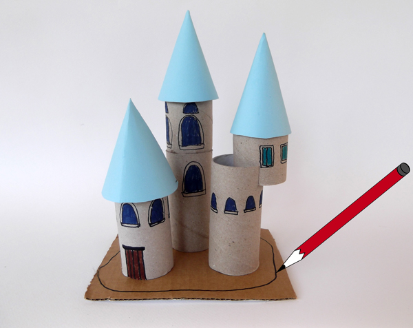 architecture for kids, architecture crafts