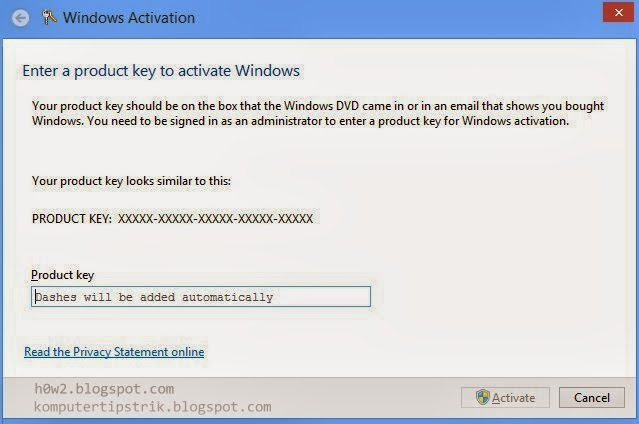 How to change product key windows 8 how to computer for Window 8 product key