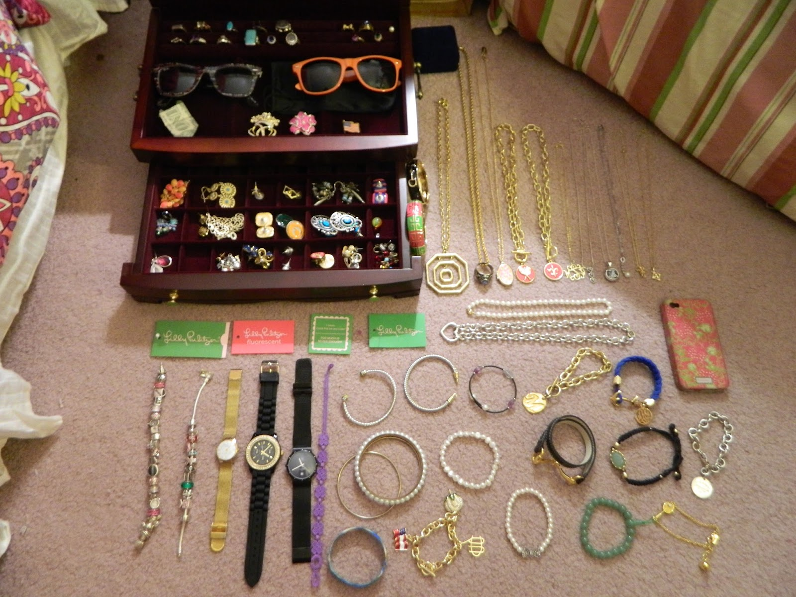The Total Prepster Whats in My Jewelry Box