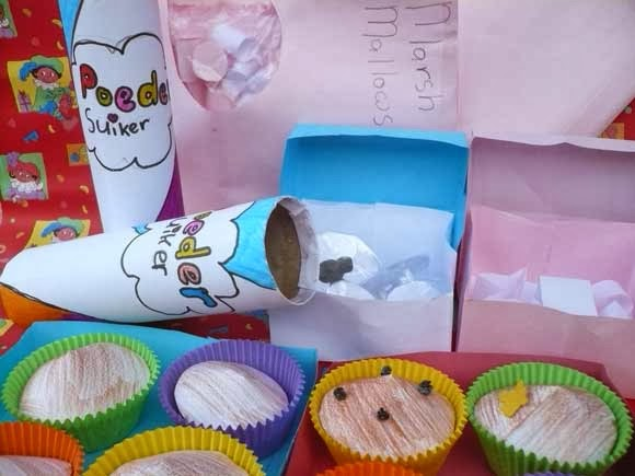 cupcakes taart suprise