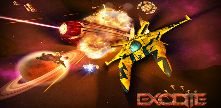 EXODITE: SPACE ACTION SHOOTER V0.9 APK+DATA MOD [UNLIMITED MONEY]