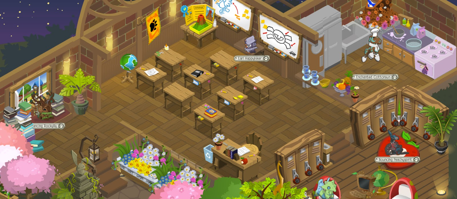 how to make a good nm den in animal jam