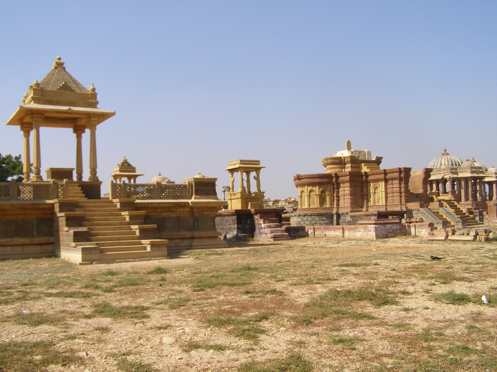 Bhuj India  City new picture : Royal Cenotaphs at Bhuj, Gujarat ~ Popular Temples of India
