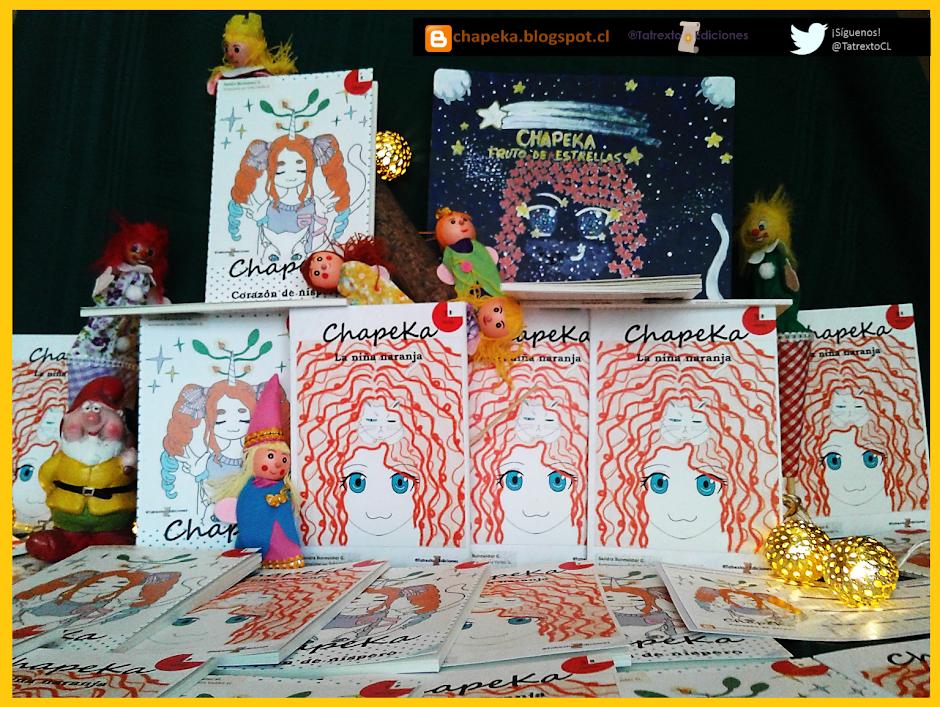 ChapeKa: novela chilena de microficción para preadolescentes.