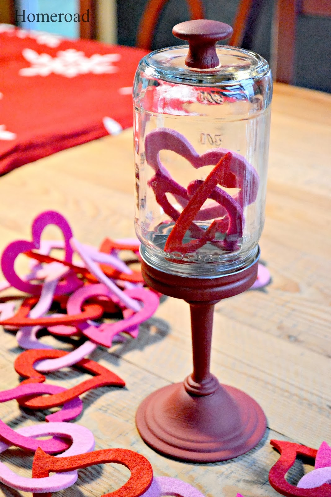 Easy DIY Valentines Cloche www.homeroad.net