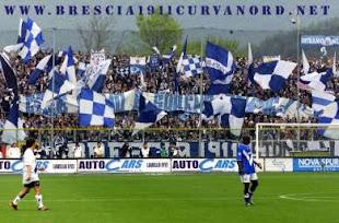 Curva nord Brescia