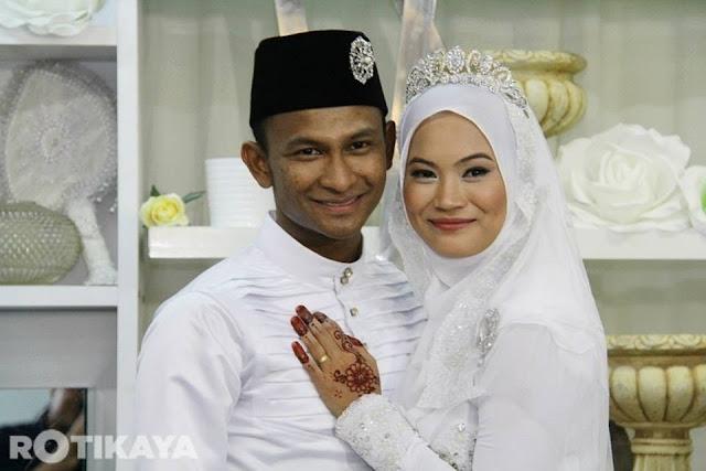 Gambar Eksklusif Black Hanifah Kahwin