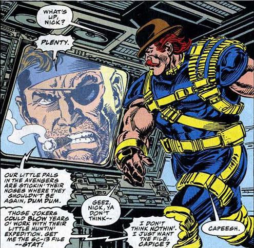 Avengers 385 Nick Fury Dugan