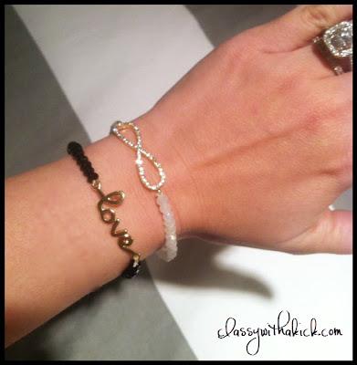 Love Bracelet Infinity Bracelet
