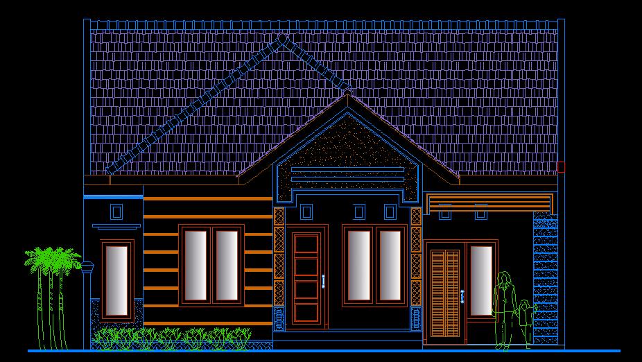 Download Gambar Rumah Sederhana Autocad Foto Desain Rumah Minimalis