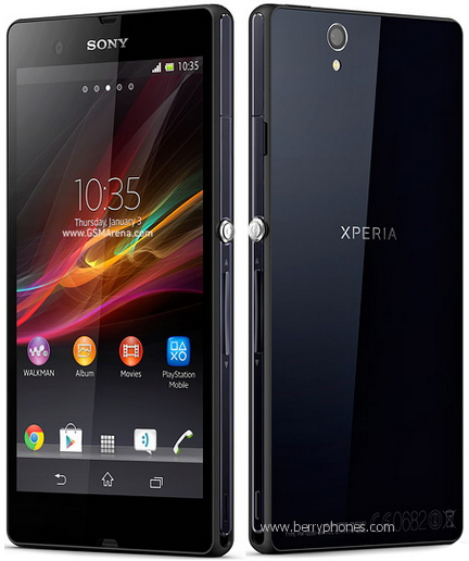 Review of The Sony Xperia Z, First quadcore of  Xperia