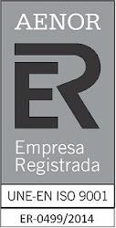Certificado UNE-EN ISO 9001:2008.Certificado del Sistema de Gestión de la Calidad para las FCT