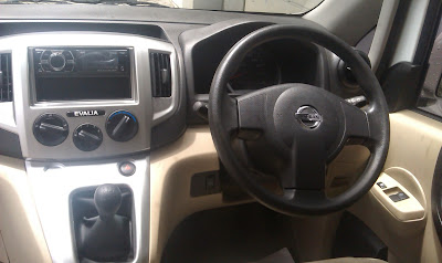 INTERIOR DASHBOARD AUDIO NISSAN EVALIA