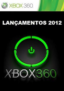 Lançamentos de jogos para XBOX360 em 2012