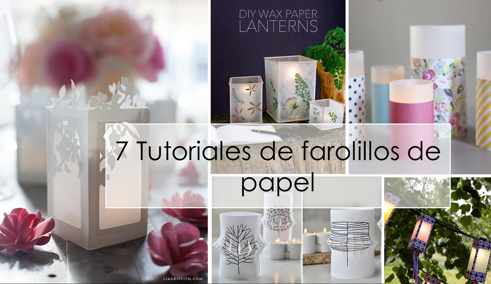 Estampados flores decorar tu casa es for Farolillos para velas