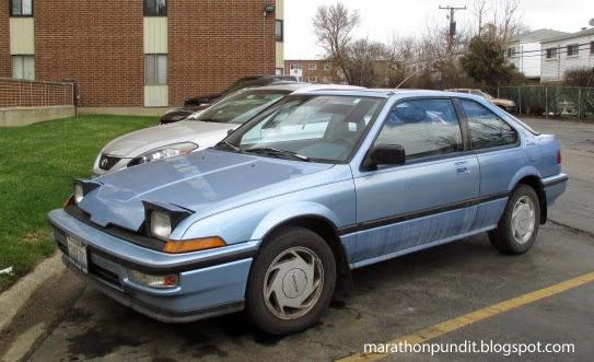 Marathon Pundit: Clic car: 1989 Acura Integra